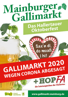 Mainburger Gallimarkt 2020